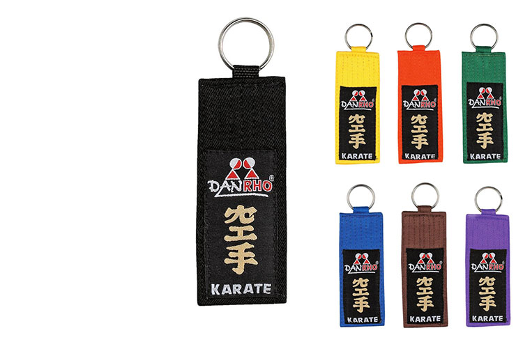 "Porte-Clés Grade ""Kyu Karate"", Danrho"