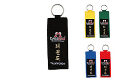 """Porte-Clés Grade """"Kyu Taekwondo"""", Danrho"""