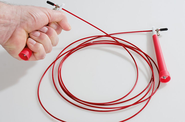 Cuerda de saltar Aluminio «Speed», Kwon