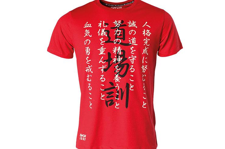 T-shirt de Deporte «Karate Dojokun», Kwon
