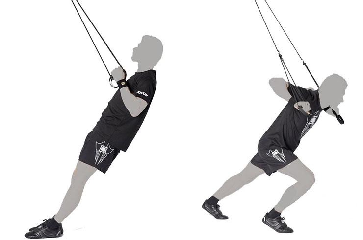 """Cordes Professionnelles """"Sling Trainer"""", Kwon"""