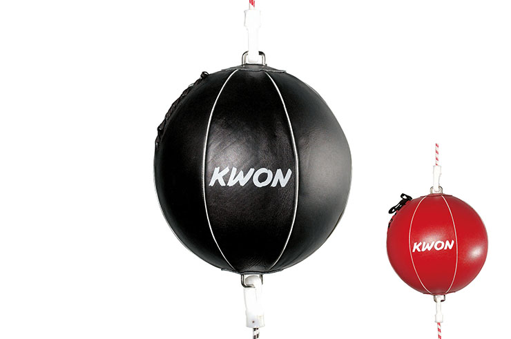 Double elastic puching ball, Kwon