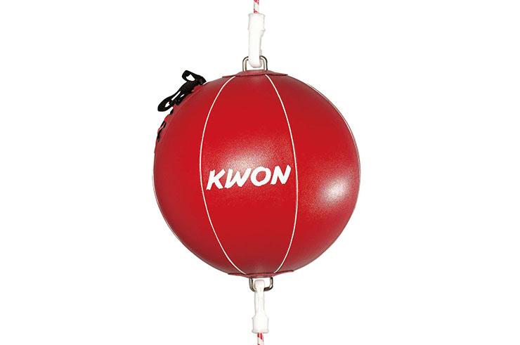 Balón doble elástico boxeo, Kwon