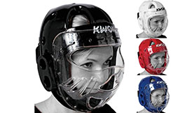 KSL Head Guard - With Visor CE, Kwon