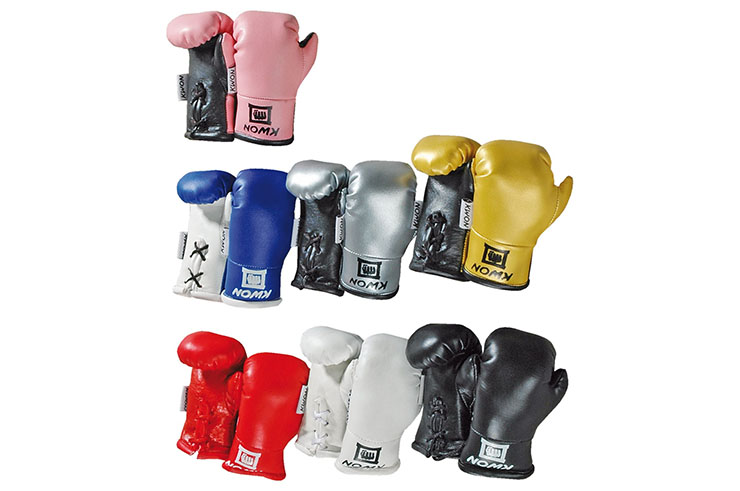 Mini boxing gloves, For rear-view mirror - Kwon