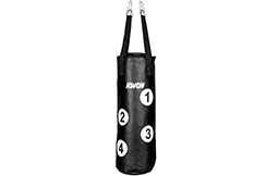 Leather Punching Bag - Punch Points, Kwon