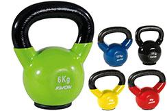 Kettlebell 4 à 16 kg, Kwon
