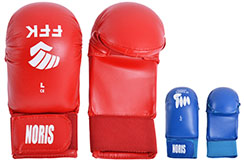 "Karate Gloves Without Thumb ""FFKarate"", Noris"