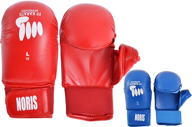 FFK karate gloves, with thumb - PR320219, Noris