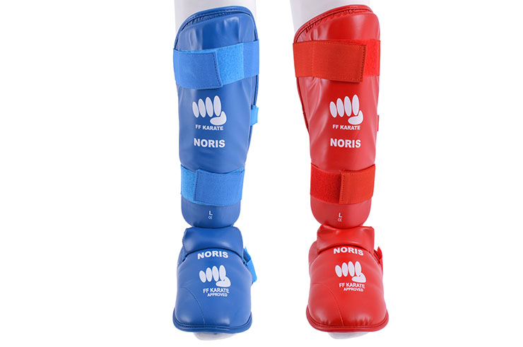 Step & Shinguards - FFK Approuved, Noris
