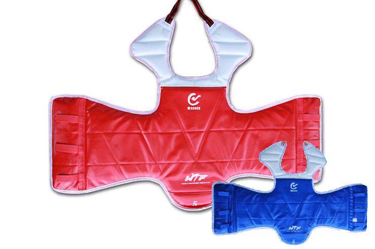 Plastron Taekwondo, Réversible WTF, Noris DragonSports.eu