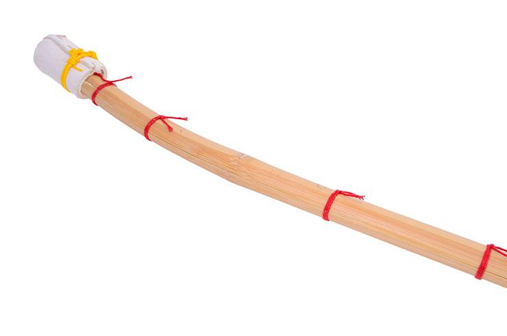 Naginata en Chêne Clair - Pointe bambou, Noris