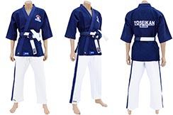 """Kimono Yoseikan Budo YWF Traditionnel """"Grain de Riz"""", Noris"""