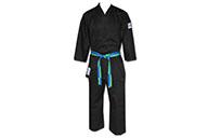 Karate-Gi d'Entrainement Noir, 100% Coton, Noris