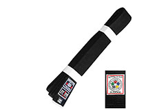 IJF Approved Judo Belt - White Tiger, Noris