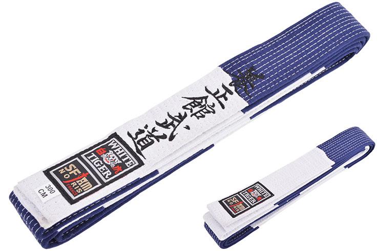 Ceinture piquée, Brodée Yoseikan Budo - Master, Noris