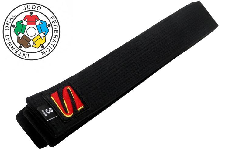Cinturón de judo negro IJF - Kusakura, Noris
