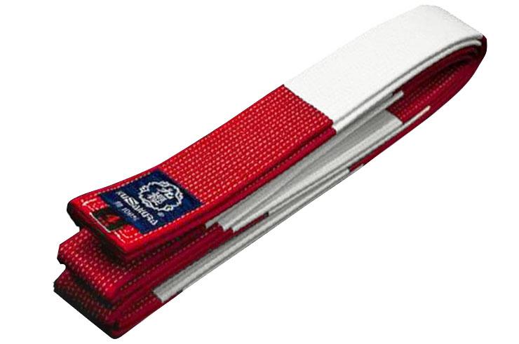 Judo Belt White & Red IJF - Kusakura, Noris