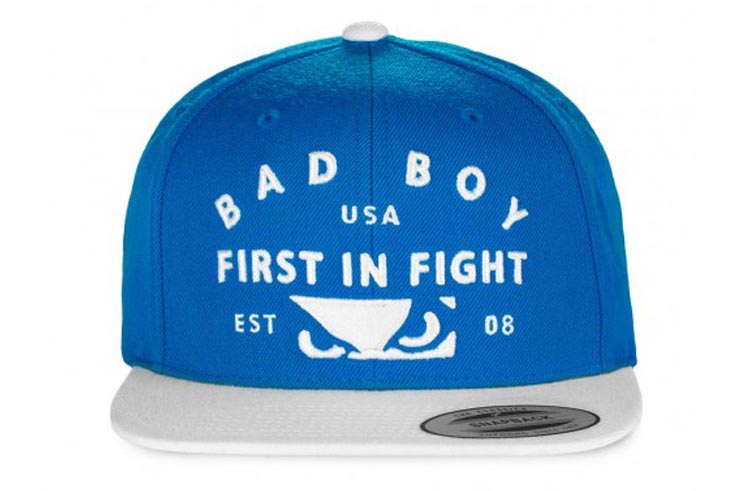 """Casquette """"FIRST IN FIGHT"""" Bad Boy"""