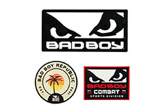 Stickers 20x10cm and 5x10cm, Bad Boy Legacy
