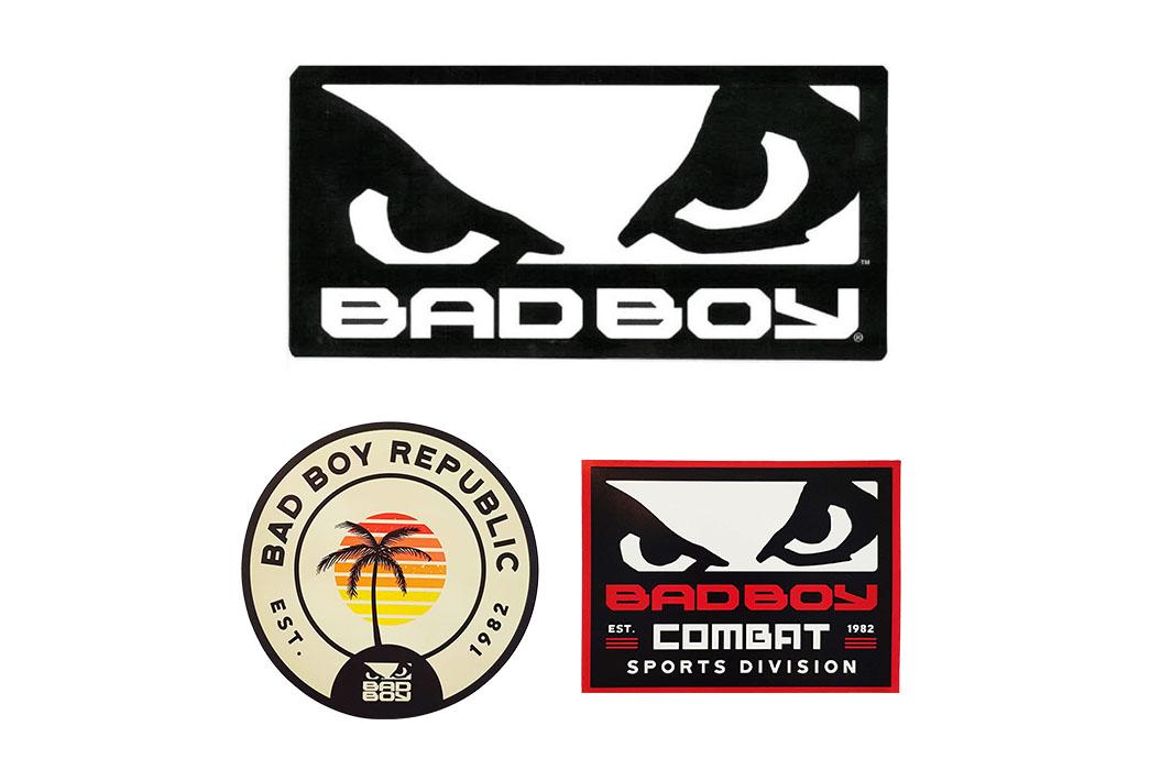 Autocollants 20x10cm et 5x10cm, Bad Boy Legacy