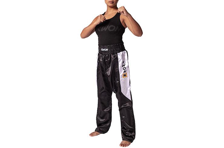 Pantalon Kickboxing - Satin, Kwon