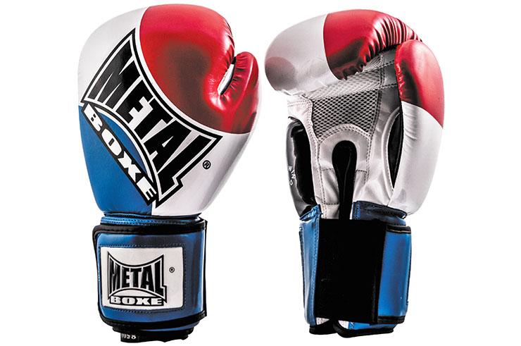 Gants compétition, Pays - MB221A, Metal Boxe