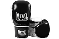 Sparring Gloves, Leather - MB011N, Metal Boxe