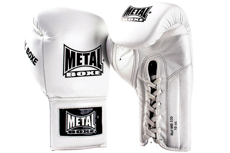 Pro Leather Gloves, Lace-up, Metal Boxe MB530
