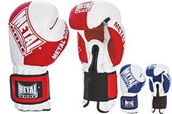 Gants de boxe française, Compétition, FFSavate - MB215, Metal Boxe