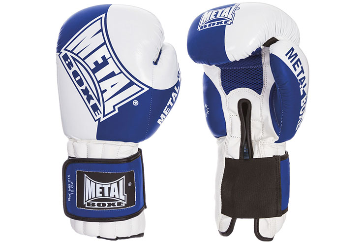 French boxing gloves, Competition, FFSavate - MB215, Metal Boxe