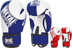 Guantes de Boxeo - Competición Aficionado, MB101 Metal Boxe