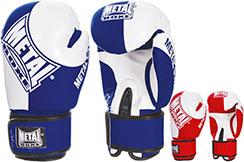 Guantes de boxeo - Competición aficionado - MB101, Metal Boxe