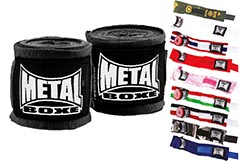 Bandes Maintien, Amateur 250cm - MB120, Metal Boxe