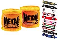 Hand Wraps, Pro 400cm - MB120, Metal Boxe