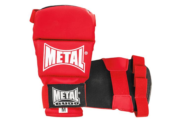 Guantes competición, Aprobado Jiu Jitsu - MB488, Metal Boxe