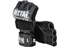 Guantes MMA, Lucha Libre, Sin Pulgar, Metal Boxe MB593