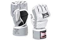 Gants MMA Pro, Haut de Gamme, Cuir - Entraînement, Metal Boxe MB534