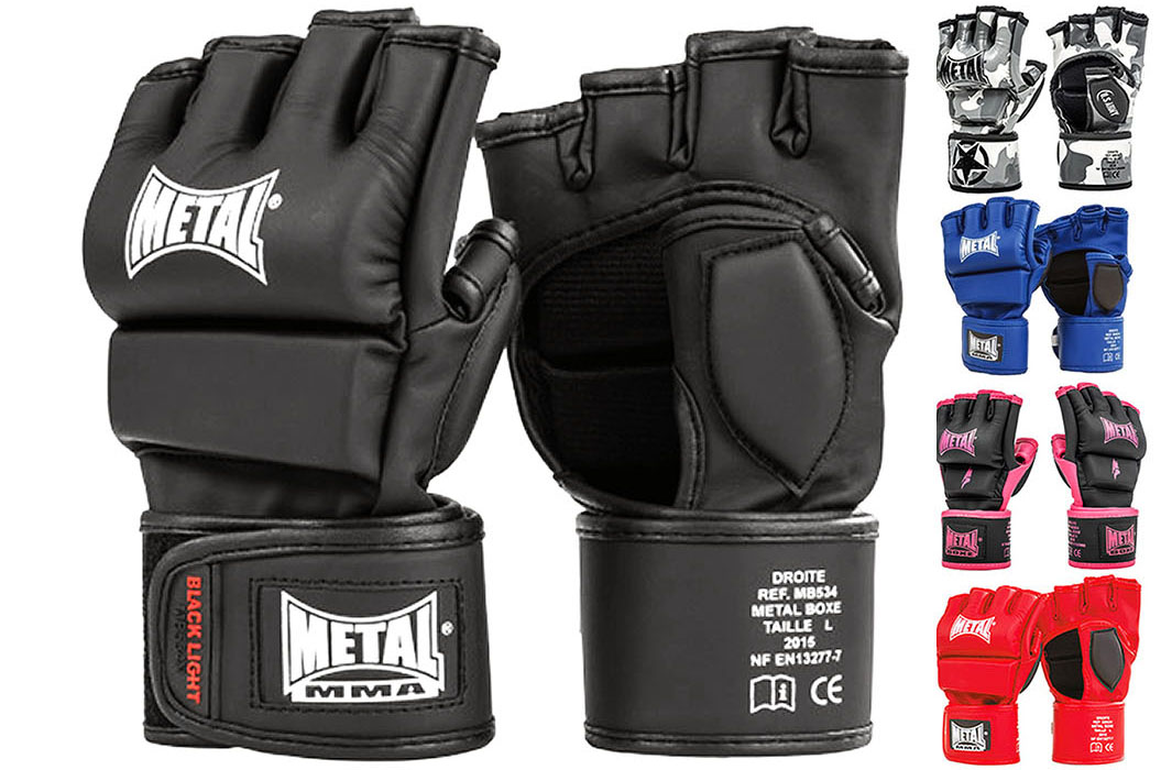 Gants MMA Compétition & Entraînement ''MB534'', Metal Boxe