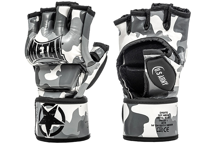 MMA Gloves, training & competition - MB534, Metal Boxe