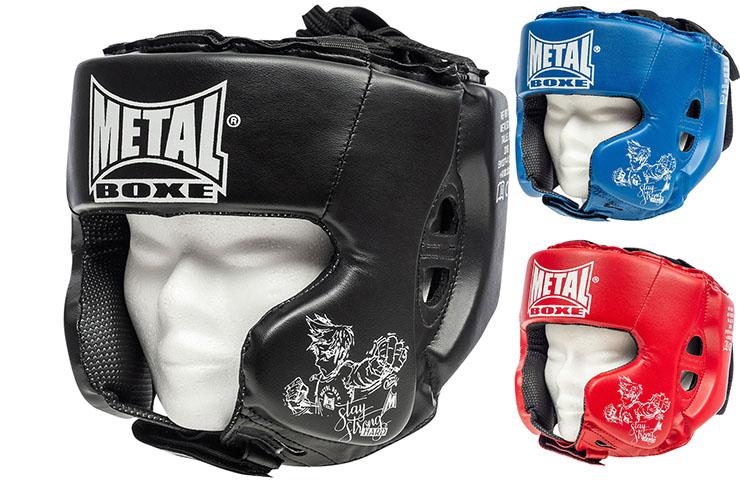 Multi-Boxing Head Guard, Kid - MB117E, Metal Boxe