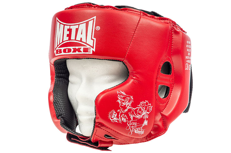 Casque Multiboxe Enfant, Metal Boxe MB117E