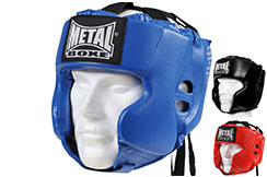 Casco Multiboxe adulto, Metal Boxe MB117A