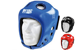 Head guard competition, Vinyl - MB469, Metal Boxe
