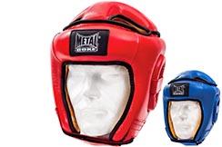 Head guard, Leather - MB510, Metal Boxe