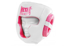 Casco integral Mujer, Metal Boxe MB229FP