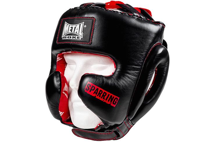 Semi Integral Head guard, Sparring - MB524S, Metal Boxing