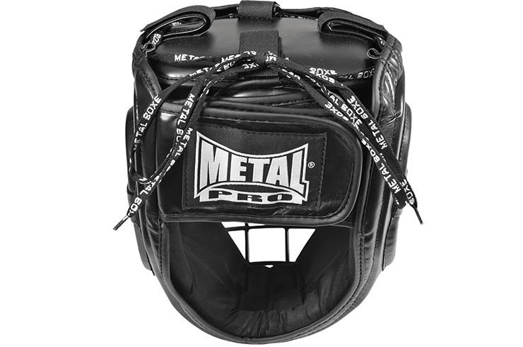 Casque combat extrême, à Grille - MB423G, Metal Boxe