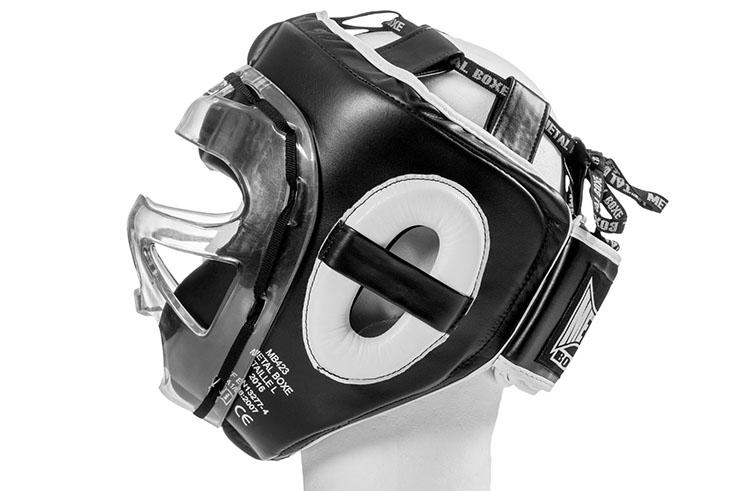 Casque MMA, à visière - MB423N, Metal Boxe