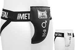 Groin Guard, Semi-Pro - MB2008H, Metal Boxe